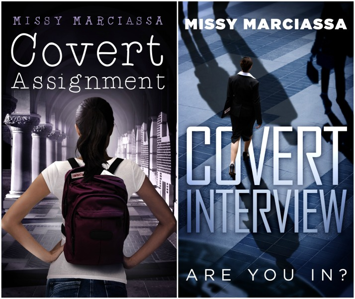 Covert Assignment & Covert Interview covers