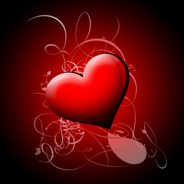 valentine's day heart post